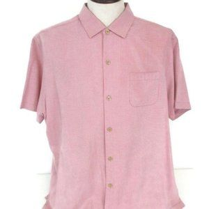 Tommy Bahama Red Modern Fit short sleeve Shirt XL